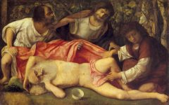 «Den berusede Noah» malt av Giovanni Bellini omkring 1515.