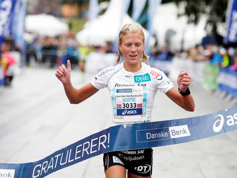 Marthe Myhre er en av norges beste langdistanseløpere